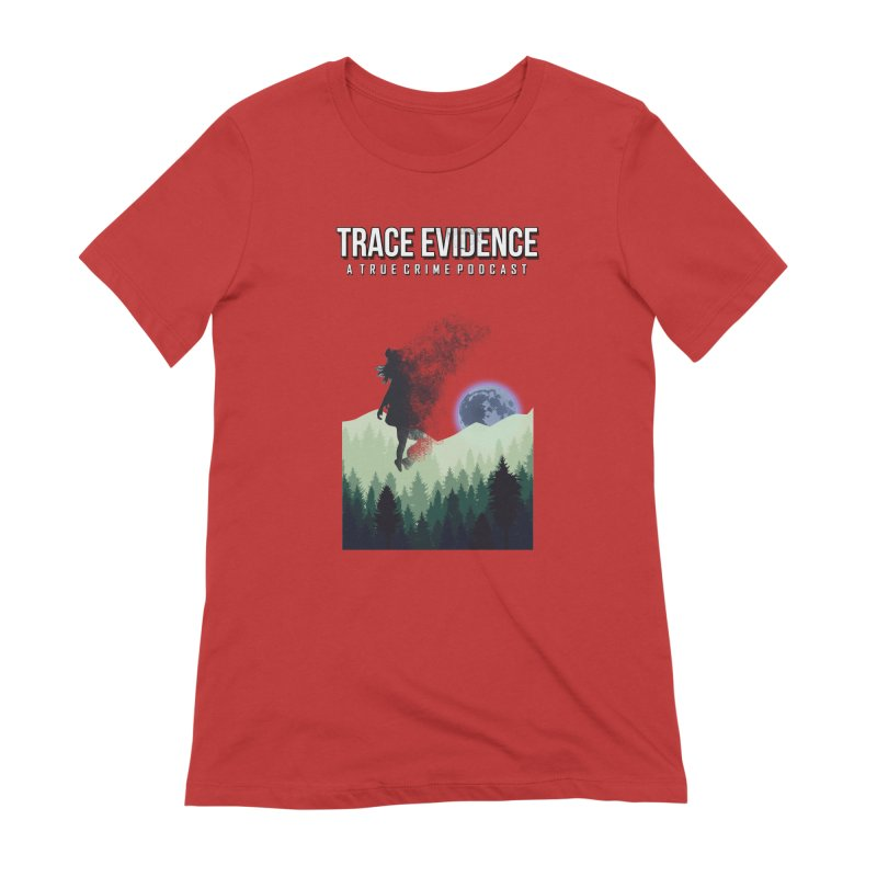 Vanishing Women's Extra Soft T-Shirt by Trace Evidence - A True Crime Podcast