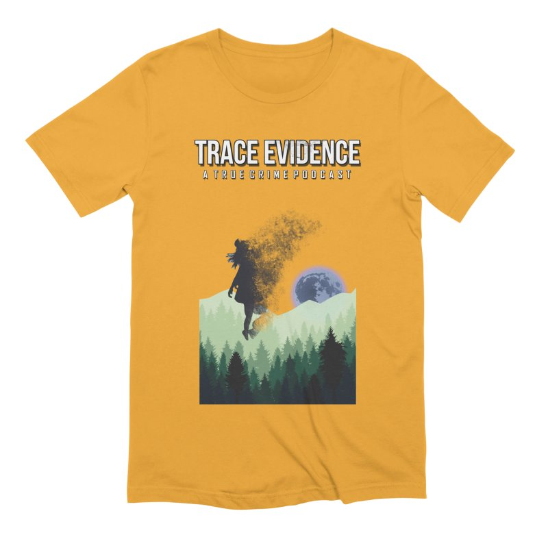 Vanishing Men's Extra Soft T-Shirt by Trace Evidence - A True Crime Podcast