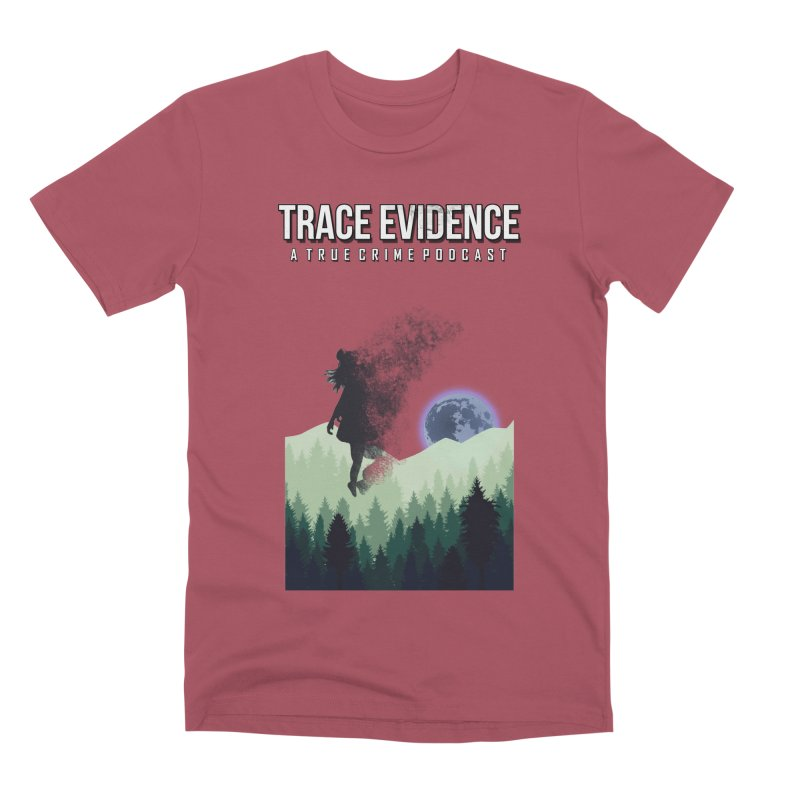 Vanishing Men's Premium T-Shirt by Trace Evidence - A True Crime Podcast