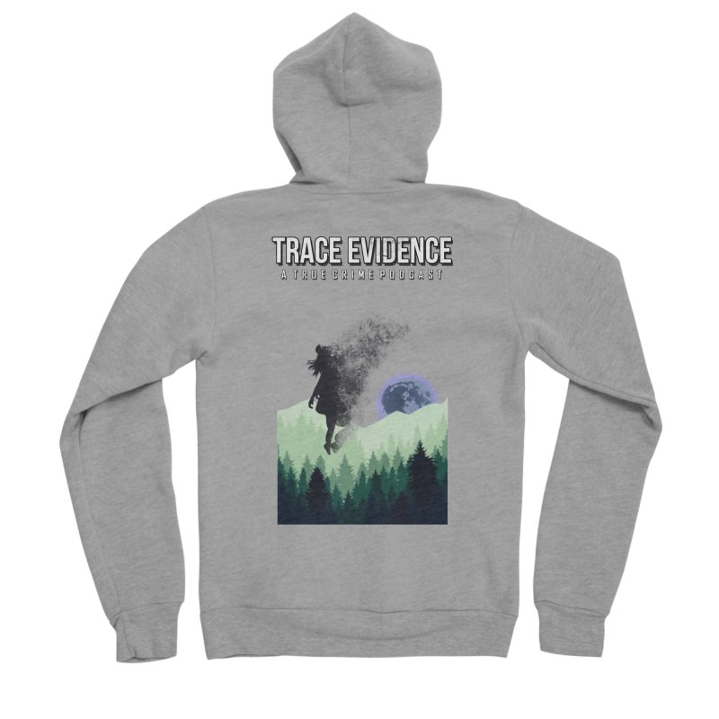 Vanishing Women's Sponge Fleece Zip-Up Hoody by Trace Evidence - A True Crime Podcast