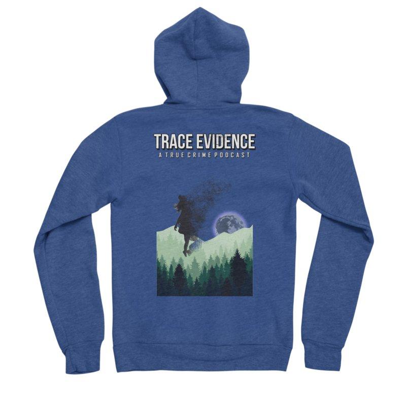 Vanishing Women's Sponge Fleece Zip-Up Hoody by Trace Evidence - A True Crime Podcast