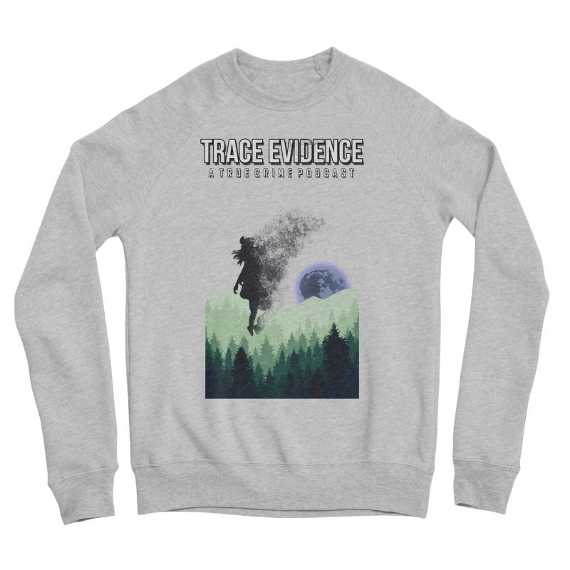 Vanishing Men's Sponge Fleece Sweatshirt by Trace Evidence - A True Crime Podcast