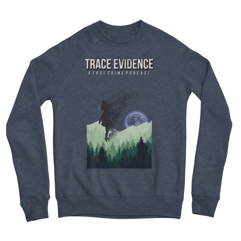 Vanishing Women's Sponge Fleece Sweatshirt by Trace Evidence - A True Crime Podcast