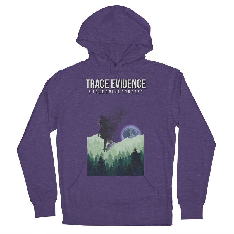 Vanishing Women's French Terry Pullover Hoody by Trace Evidence - A True Crime Podcast
