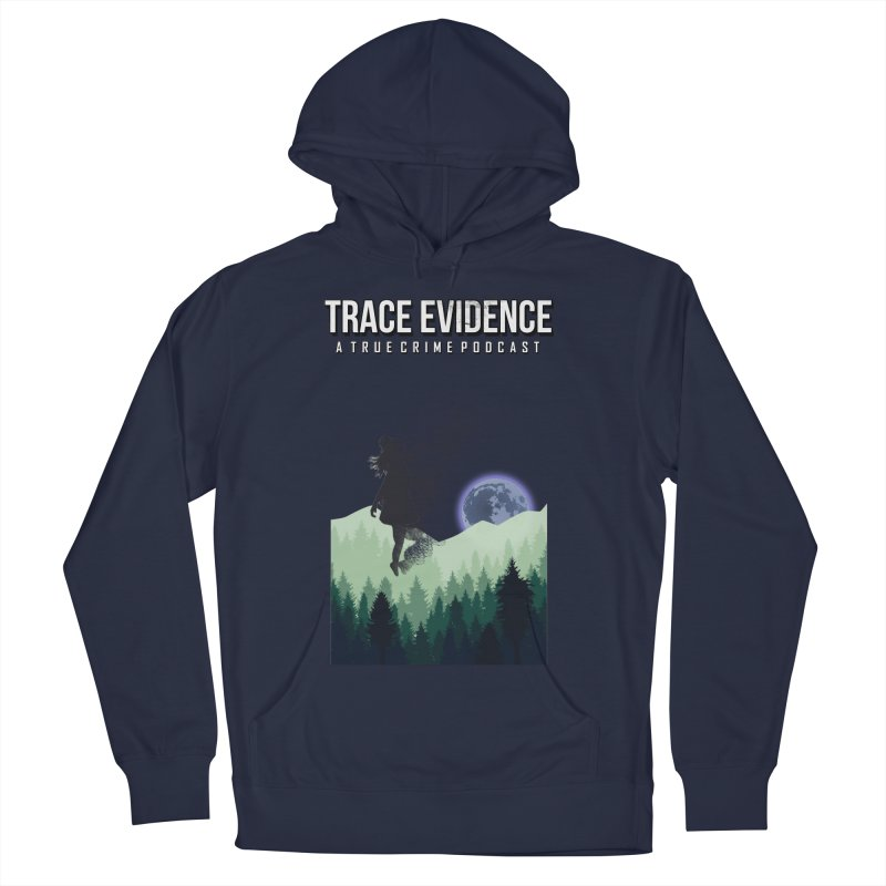 Vanishing Men's French Terry Pullover Hoody by Trace Evidence - A True Crime Podcast