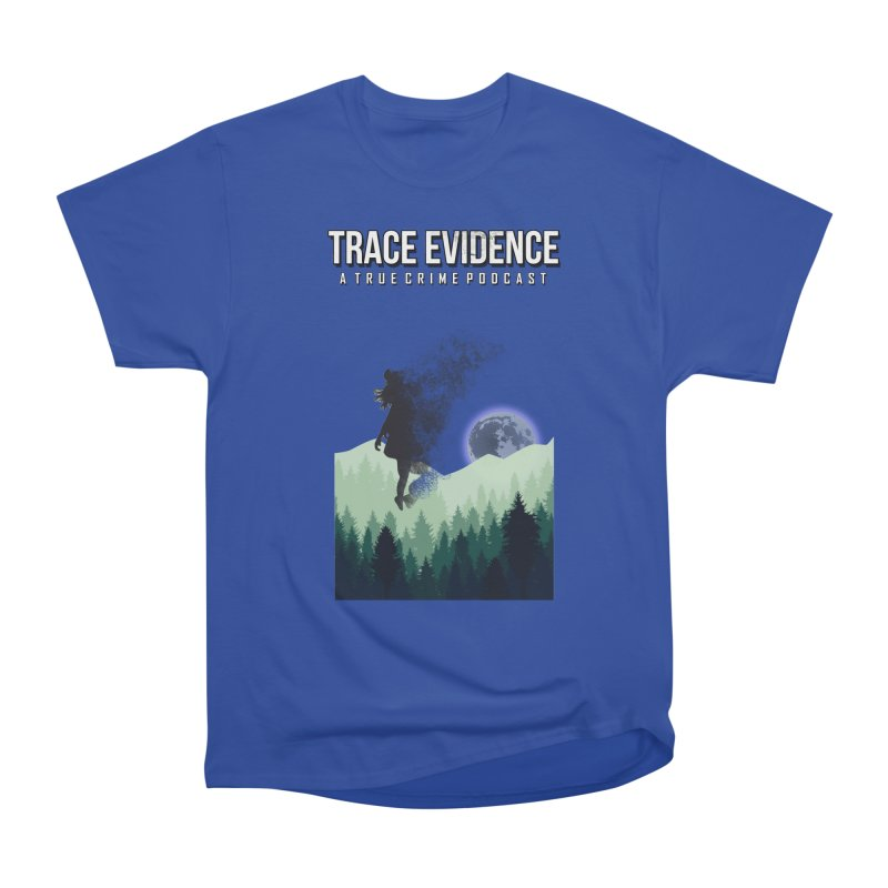 Vanishing Women's Heavyweight Unisex T-Shirt by Trace Evidence - A True Crime Podcast