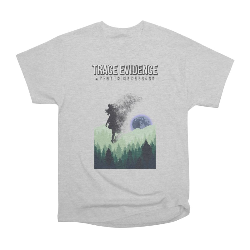 Vanishing Men's Heavyweight T-Shirt by Trace Evidence - A True Crime Podcast