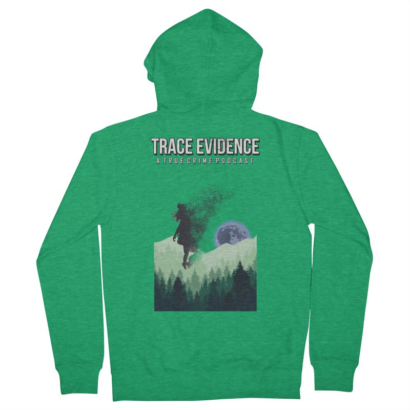 Vanishing Women's French Terry Zip-Up Hoody by Trace Evidence - A True Crime Podcast