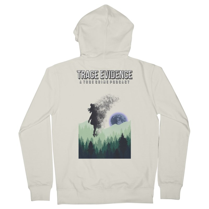Vanishing Men's French Terry Zip-Up Hoody by Trace Evidence - A True Crime Podcast