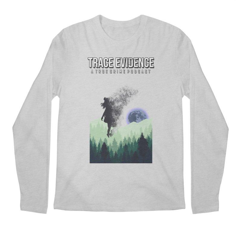 Vanishing Men's Regular Longsleeve T-Shirt by Trace Evidence - A True Crime Podcast