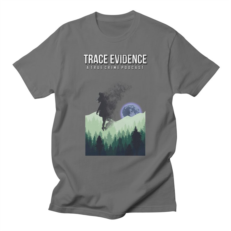 Vanishing Men's T-Shirt by Trace Evidence - A True Crime Podcast