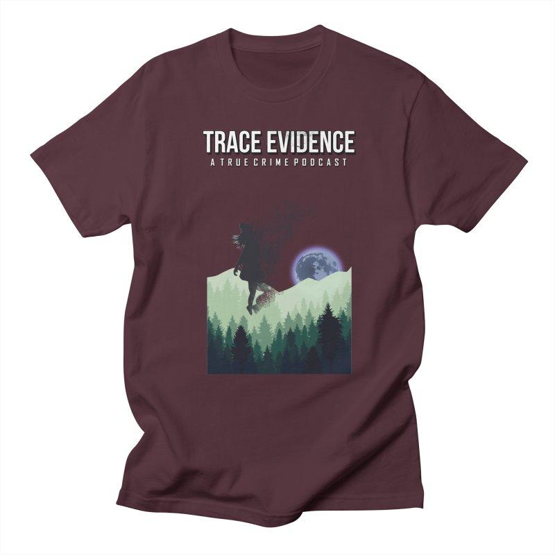 Vanishing Women's Regular Unisex T-Shirt by Trace Evidence - A True Crime Podcast
