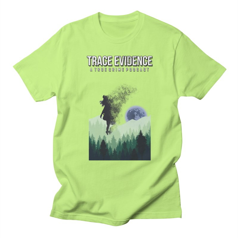 Vanishing Men's Regular T-Shirt by Trace Evidence - A True Crime Podcast