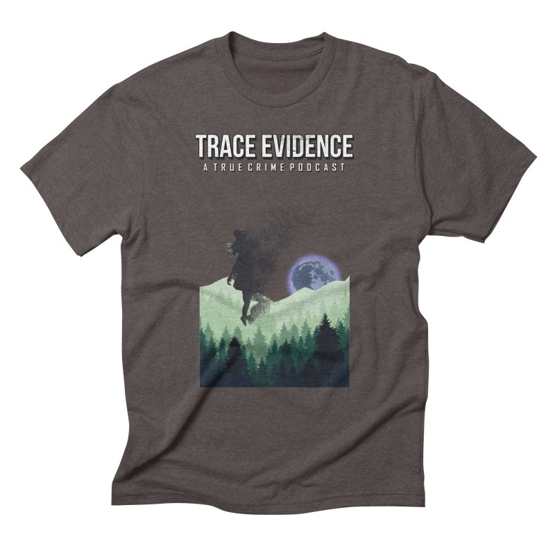 Vanishing Men's Triblend T-Shirt by Trace Evidence - A True Crime Podcast