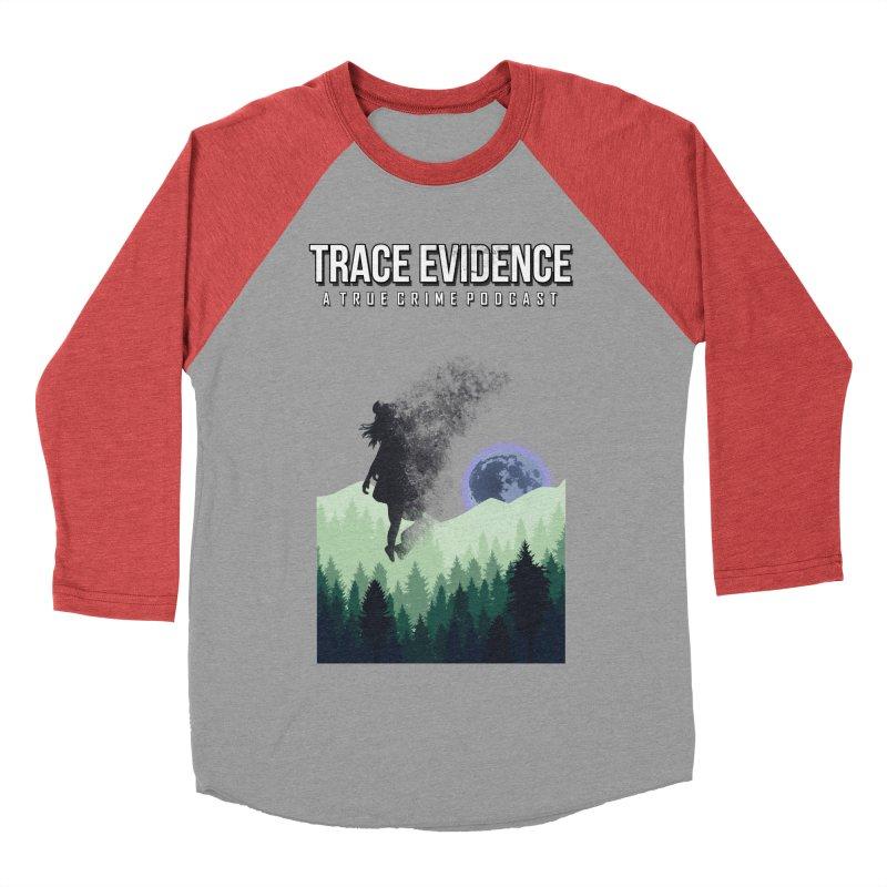 Vanishing Women's Baseball Triblend Longsleeve T-Shirt by Trace Evidence - A True Crime Podcast