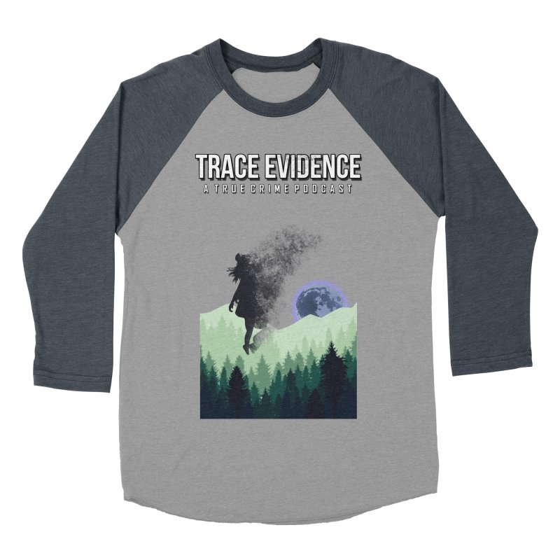 Vanishing Men's Baseball Triblend Longsleeve T-Shirt by Trace Evidence - A True Crime Podcast