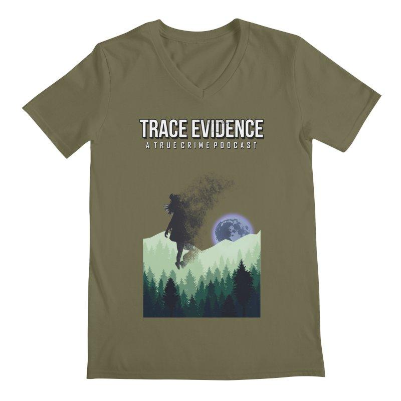 Vanishing Men's Regular V-Neck by Trace Evidence - A True Crime Podcast