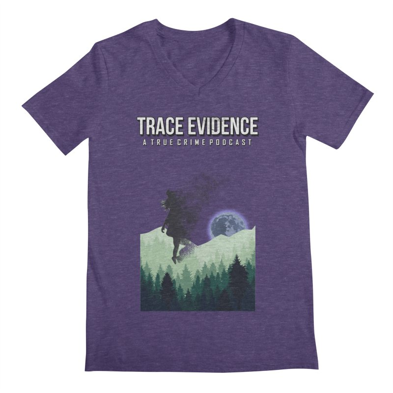 Vanishing Men's Regular V-Neck by Trace Evidence - A True Crime Podcast