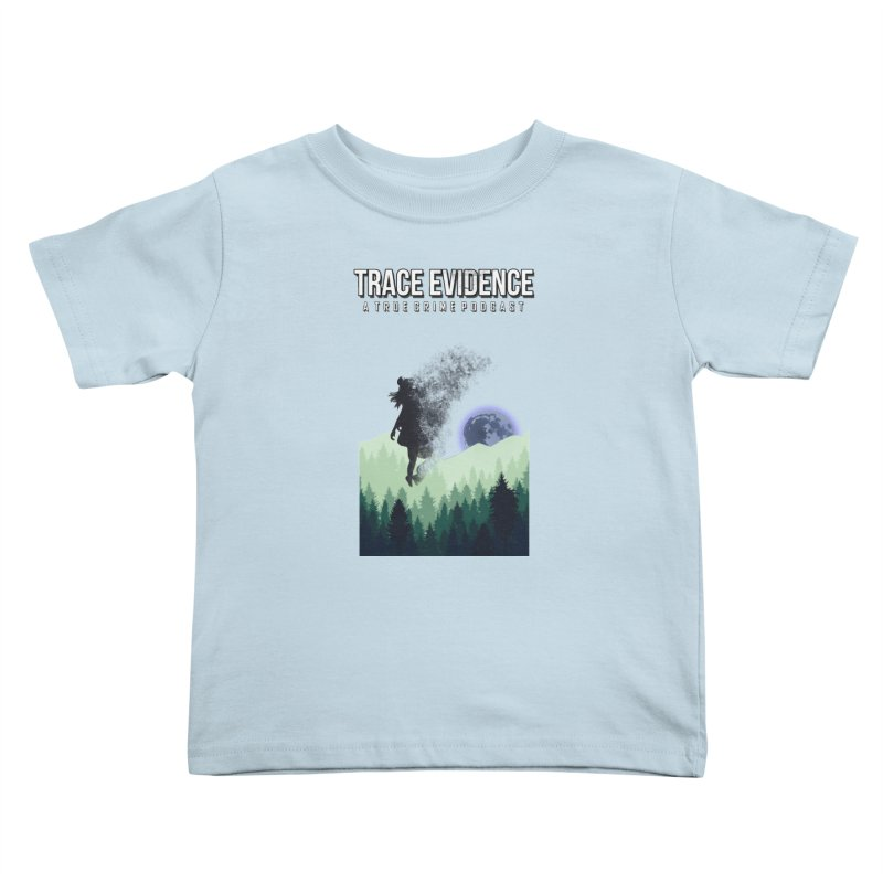 Vanishing Kids Toddler T-Shirt by Trace Evidence - A True Crime Podcast