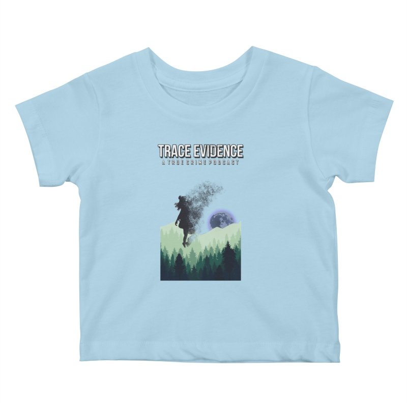 Vanishing Kids Baby T-Shirt by Trace Evidence - A True Crime Podcast