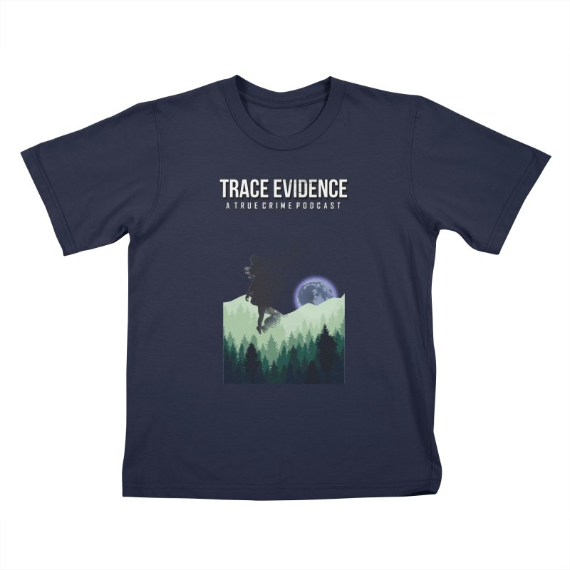 Vanishing Kids T-Shirt by Trace Evidence - A True Crime Podcast