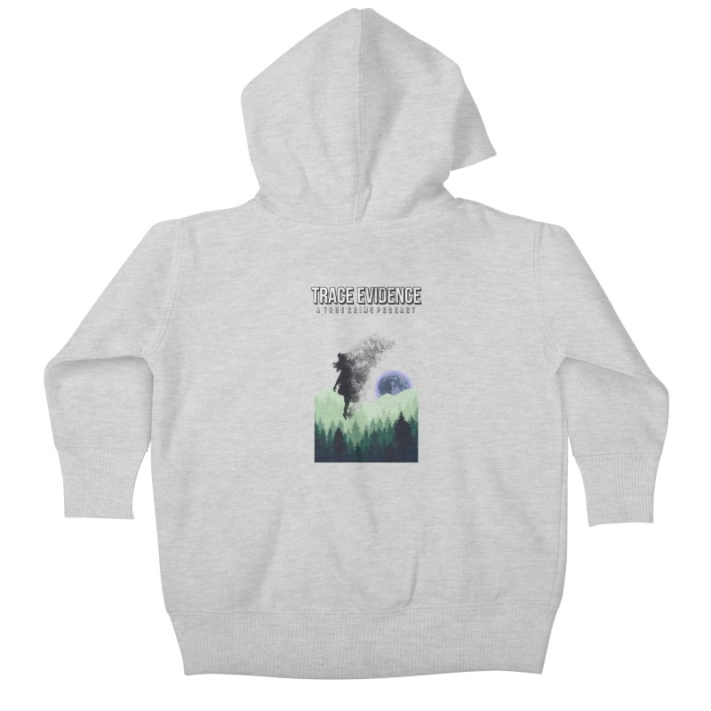 Vanishing Kids Baby Zip-Up Hoody by Trace Evidence - A True Crime Podcast