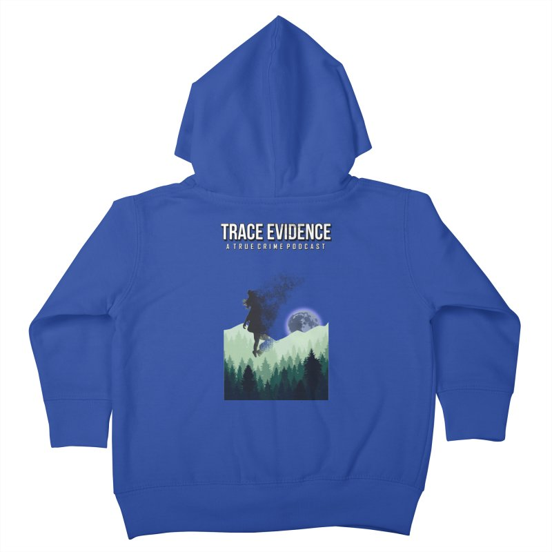 Vanishing Kids Toddler Zip-Up Hoody by Trace Evidence - A True Crime Podcast