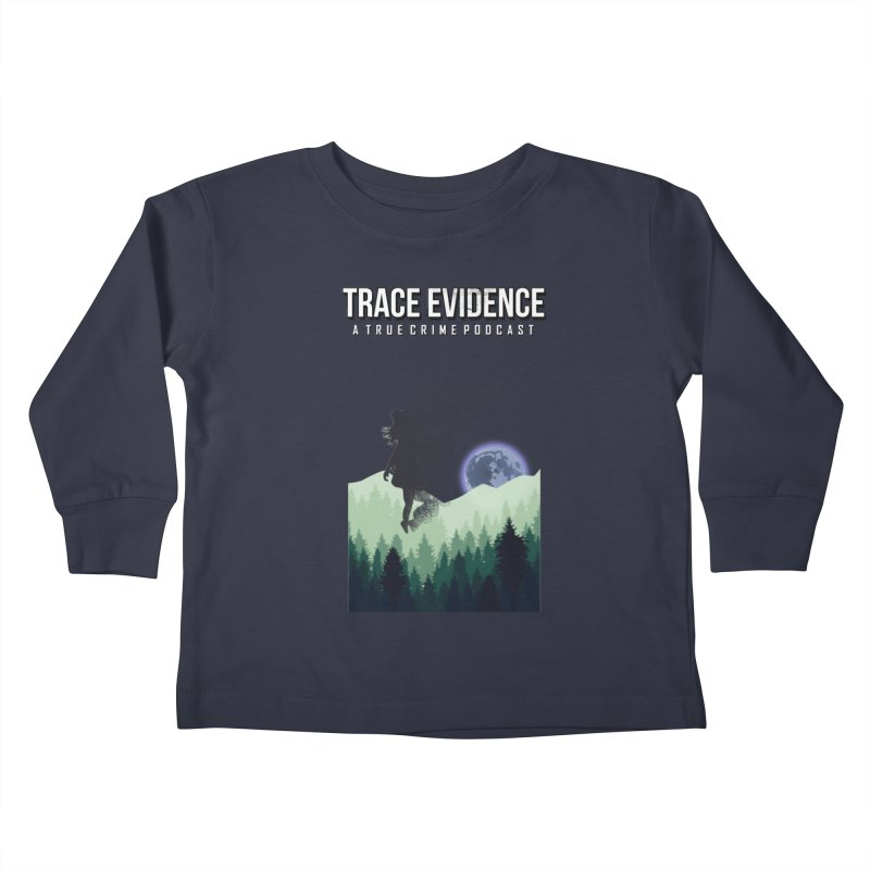 Vanishing Kids Toddler Longsleeve T-Shirt by Trace Evidence - A True Crime Podcast