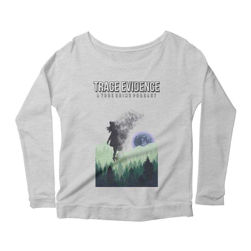 Vanishing Women's Scoop Neck Longsleeve T-Shirt by Trace Evidence - A True Crime Podcast