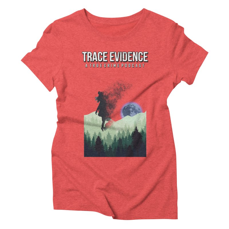 Vanishing Women's Triblend T-Shirt by Trace Evidence - A True Crime Podcast