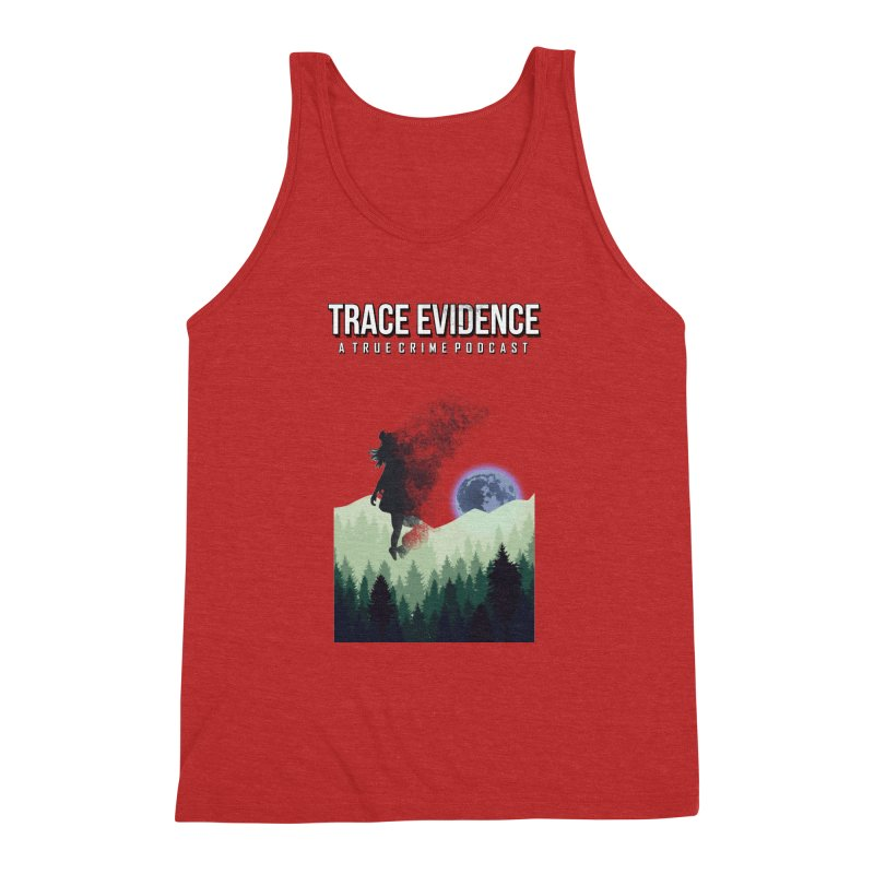 Vanishing Men's Triblend Tank by Trace Evidence - A True Crime Podcast
