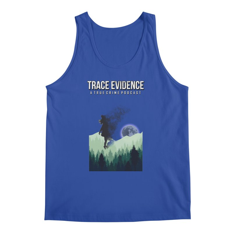 Vanishing Men's Regular Tank by Trace Evidence - A True Crime Podcast