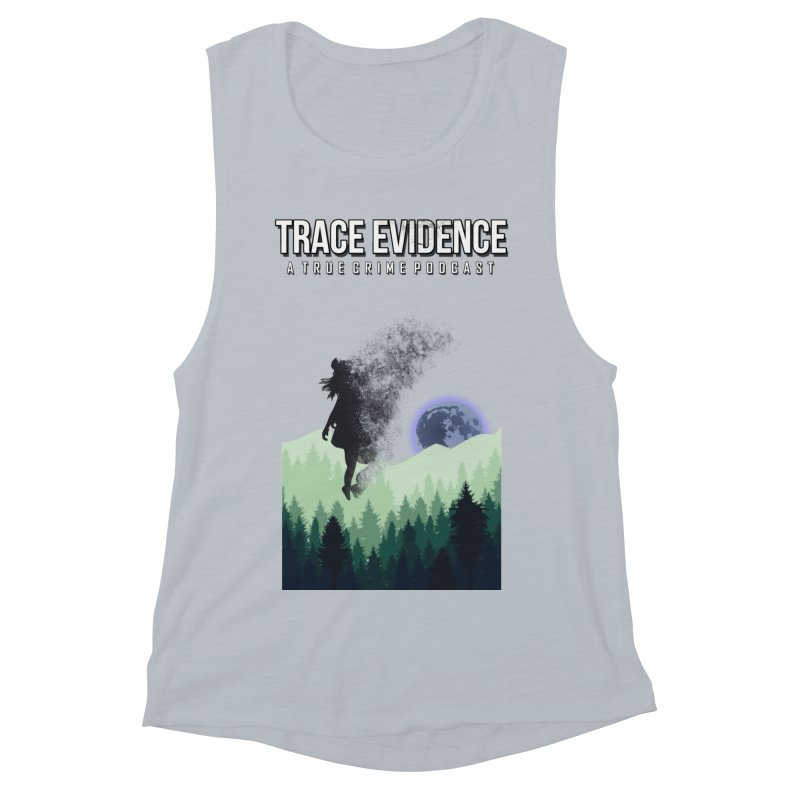 Vanishing Women's Muscle Tank by Trace Evidence - A True Crime Podcast