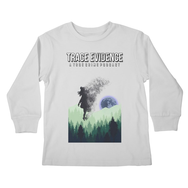 Vanishing Kids Longsleeve T-Shirt by Trace Evidence - A True Crime Podcast