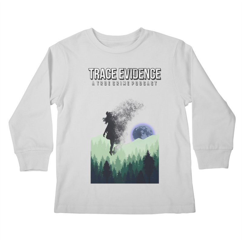 Vanishing Kids Longsleeve T-Shirt by Trace Evidence - A True Crime Podcast
