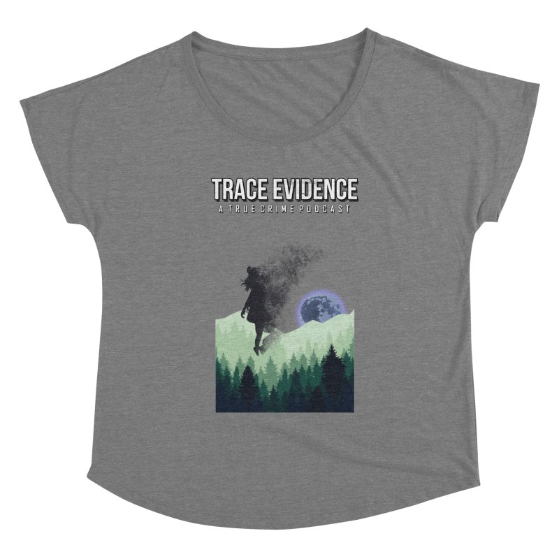 Vanishing Women's Scoop Neck by Trace Evidence - A True Crime Podcast