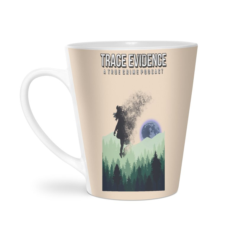 Vanishing Accessories Latte Mug by Trace Evidence - A True Crime Podcast