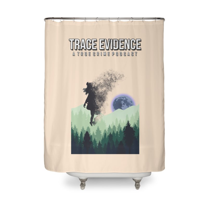 Vanishing Home Shower Curtain by Trace Evidence - A True Crime Podcast