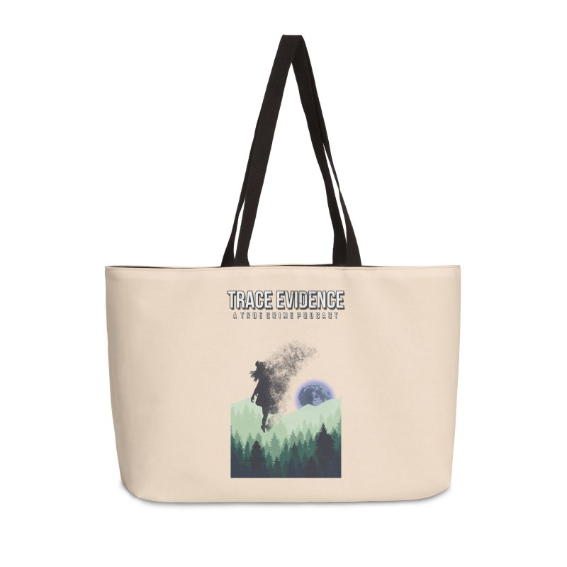 Vanishing Accessories Weekender Bag Bag by Trace Evidence - A True Crime Podcast