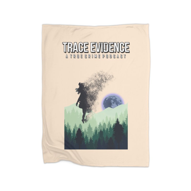 Vanishing Home Fleece Blanket Blanket by Trace Evidence - A True Crime Podcast