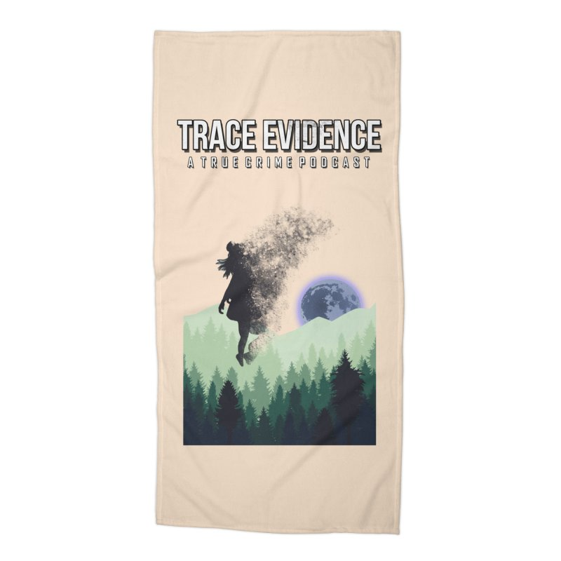 Vanishing Accessories Beach Towel by Trace Evidence - A True Crime Podcast