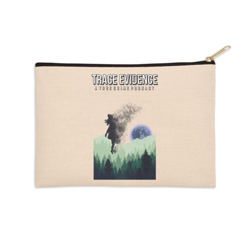 Vanishing Accessories Zip Pouch by Trace Evidence - A True Crime Podcast