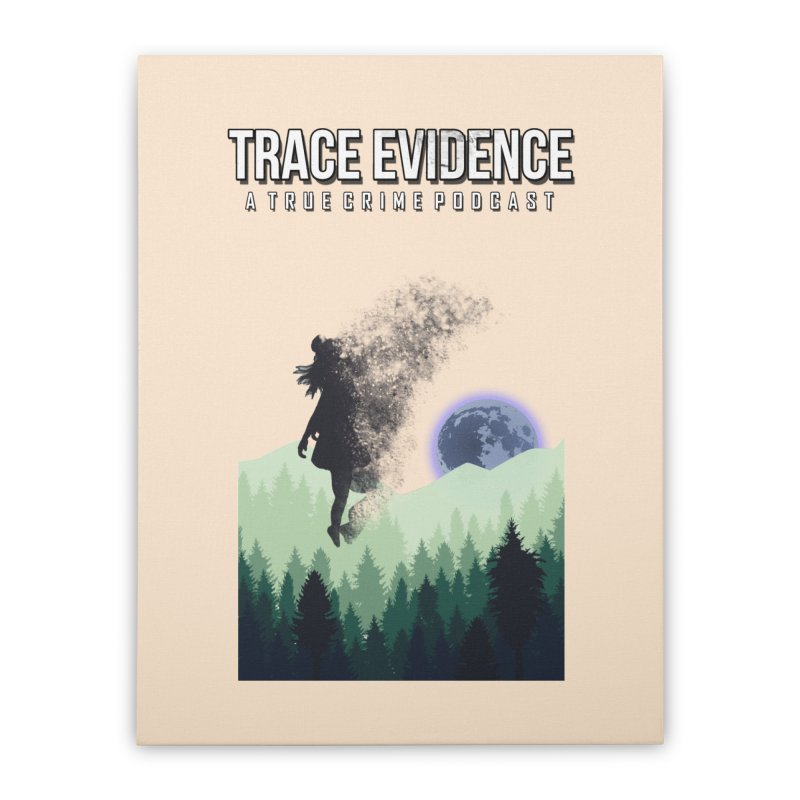 Vanishing Home Stretched Canvas by Trace Evidence - A True Crime Podcast