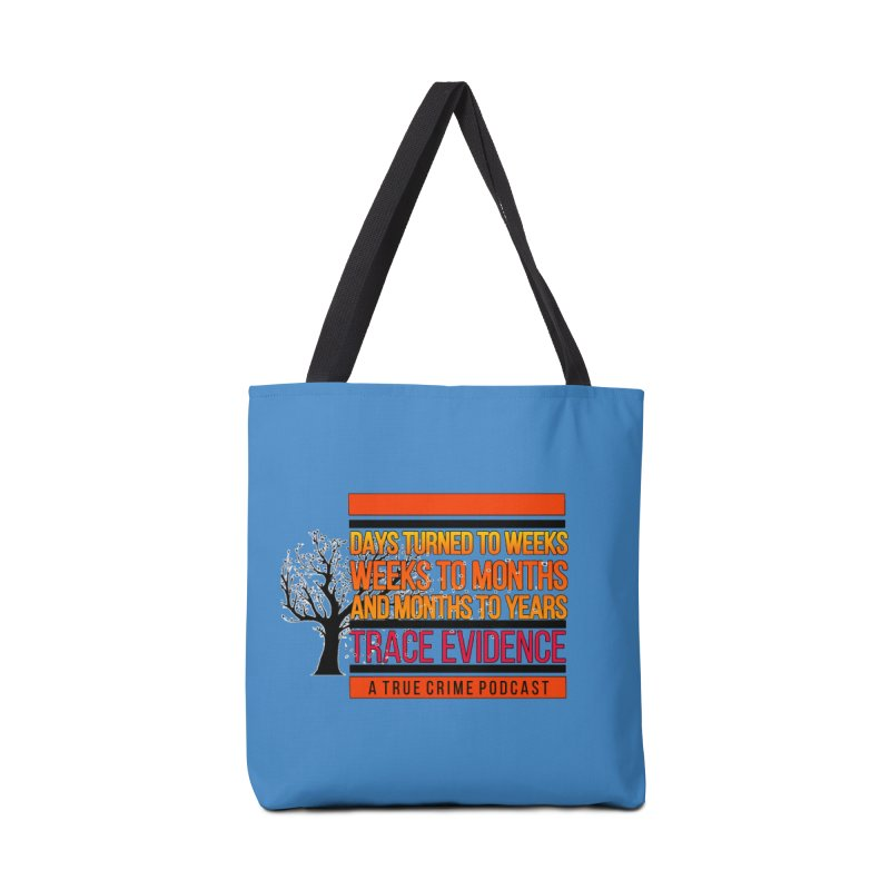 Days to Weeks Accessories Tote Bag Bag by Trace Evidence - A True Crime Podcast