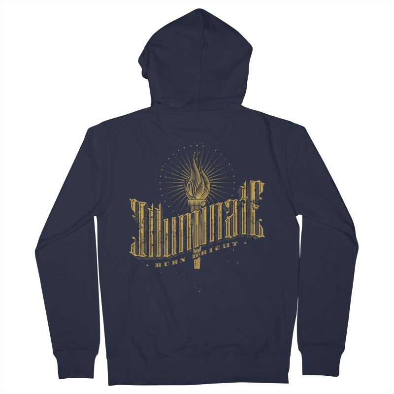 Illuminate Men's Zip-Up Hoody by tracieching's Artist Shop