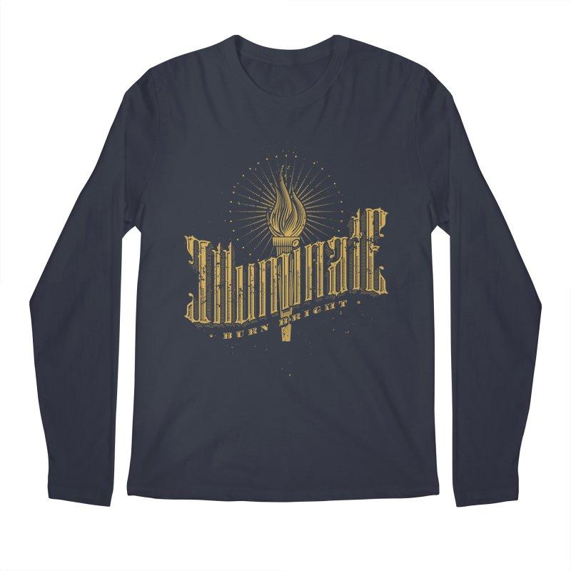 Illuminate Men's Longsleeve T-Shirt by tracieching's Artist Shop
