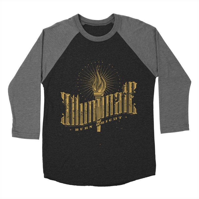 Illuminate Men's Baseball Triblend T-Shirt by tracieching's Artist Shop