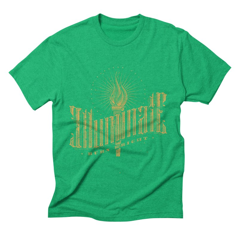 Illuminate Men's Triblend T-shirt by tracieching's Artist Shop
