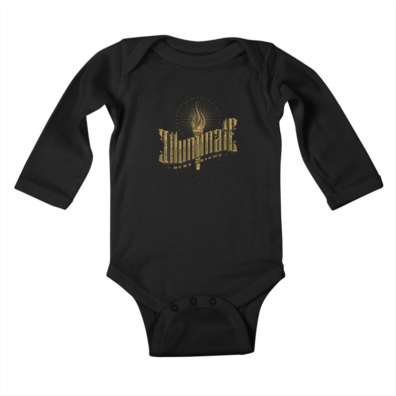 Illuminate Kids Baby Longsleeve Bodysuit by tracieching's Artist Shop