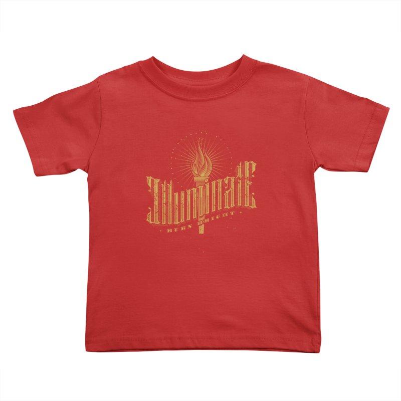 Illuminate Kids Toddler T-Shirt by tracieching's Artist Shop